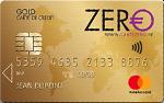 Zero MasterCard Gold